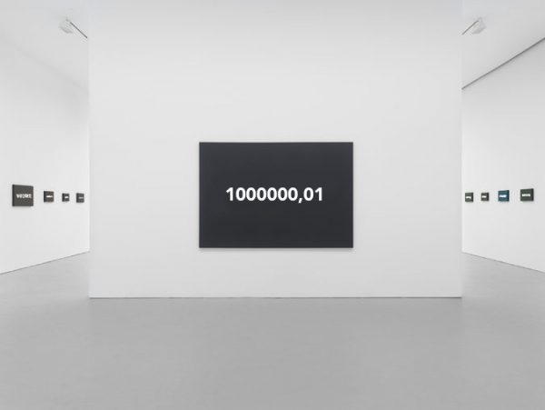 """Picture of """"After On Kawara"""" exhibition"""