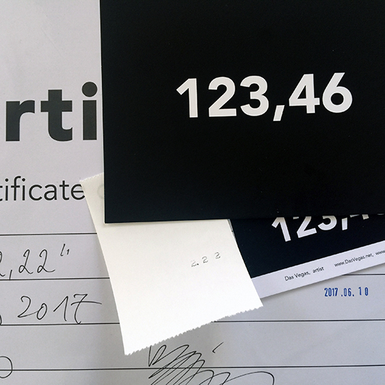 Picture of a Number certificate